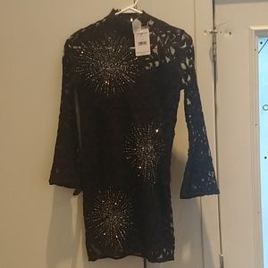Free People lace and sequin dress